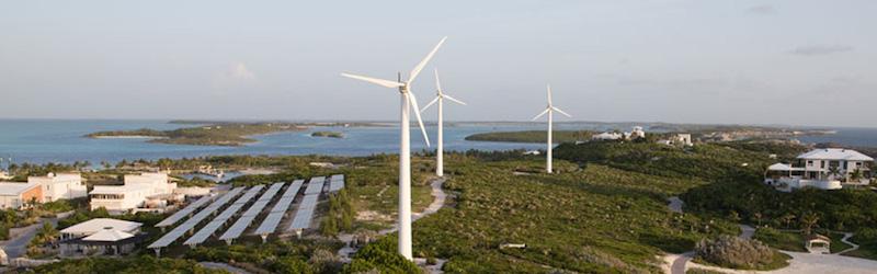 wind powered microgrid
