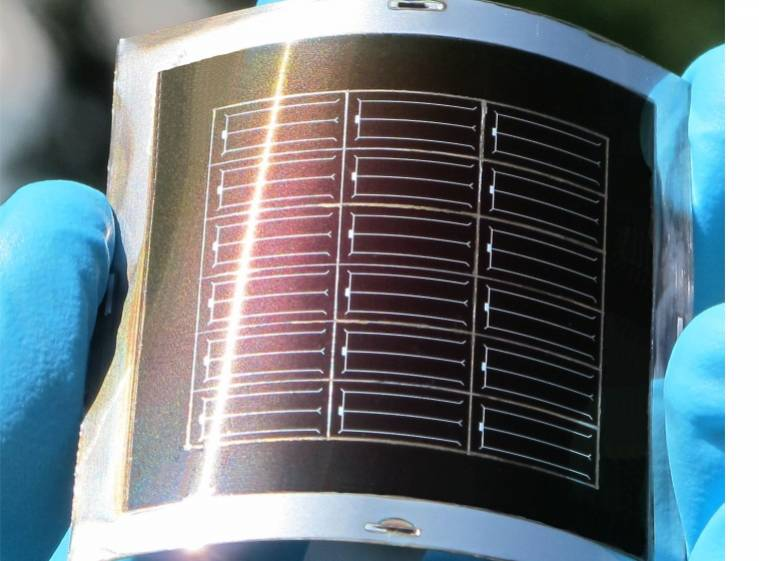 flexible perovskite solar cell