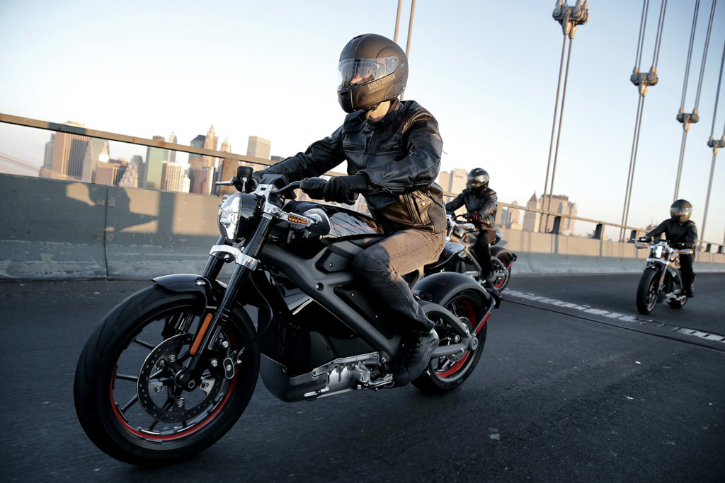 Livewire harley-davidson electric motorycle